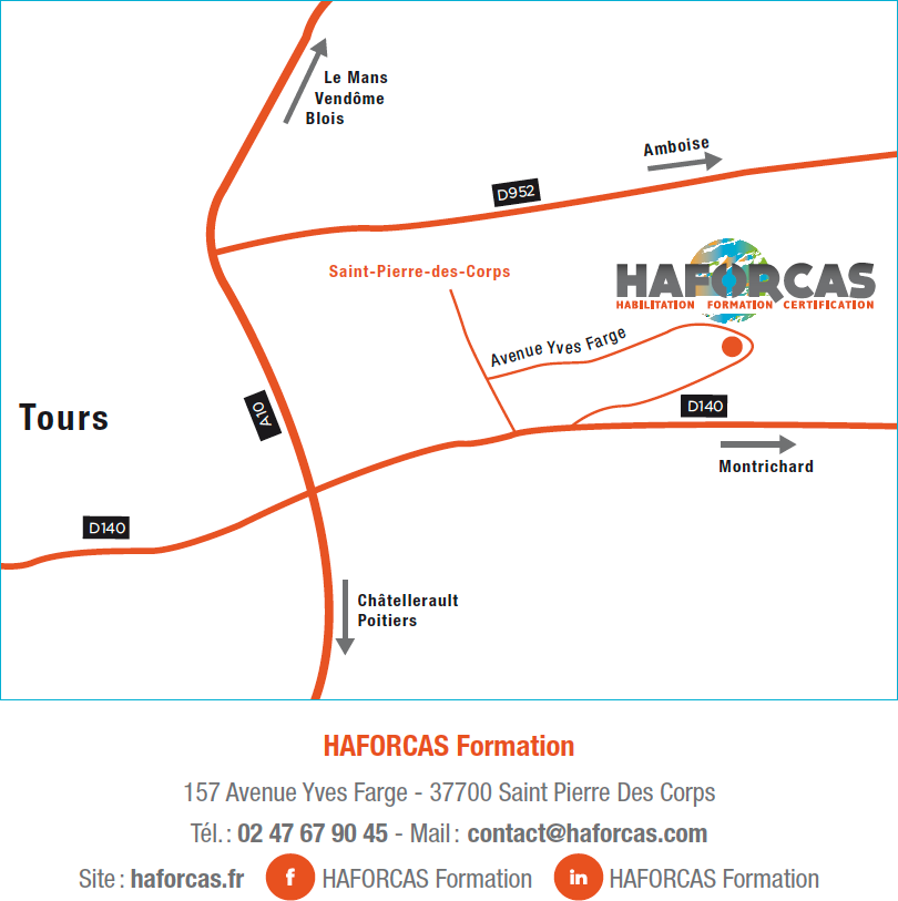 Carte HAFORCAS Formation