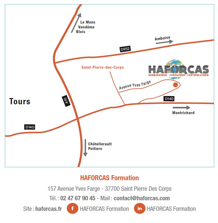 Carte HAFORCAS Formation