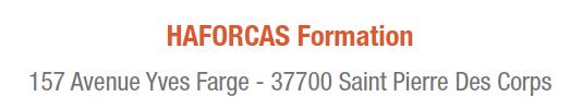 Contact HAFORCAS Formation